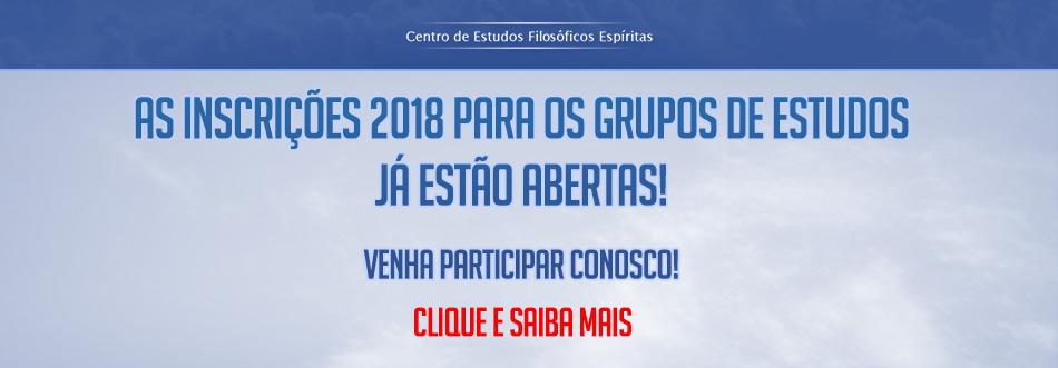 Grupo de Estudos 2018